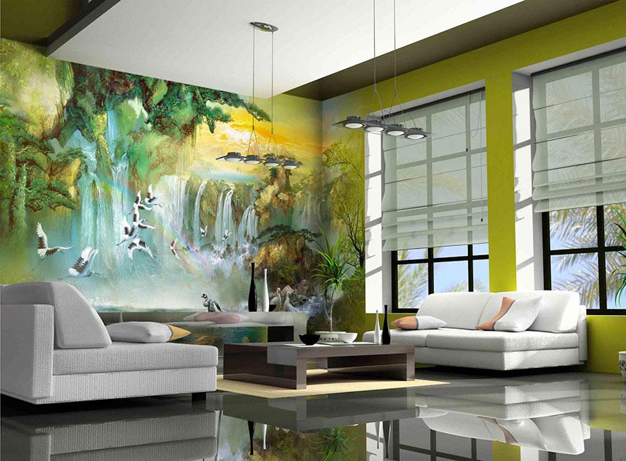 Quadri per soggiorno moderno dal design di tendenza n.16