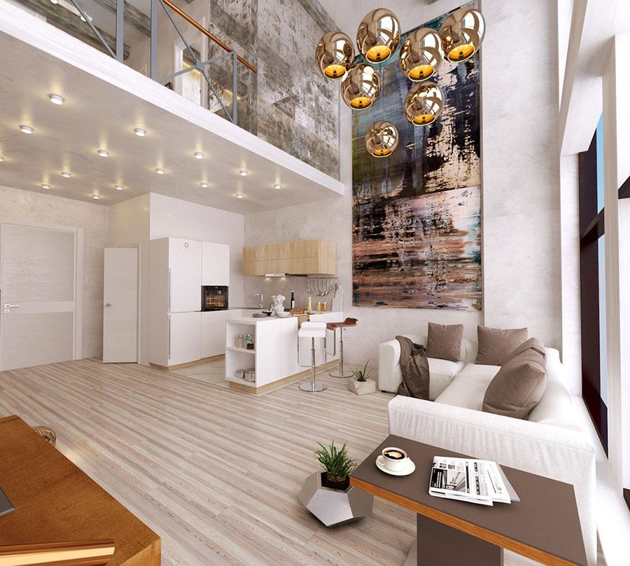Quadri per soggiorno moderno dal design di tendenza n.17