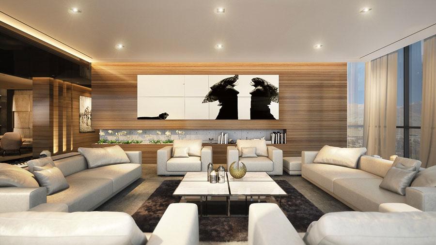 Quadri per soggiorno moderno dal design di tendenza n.18