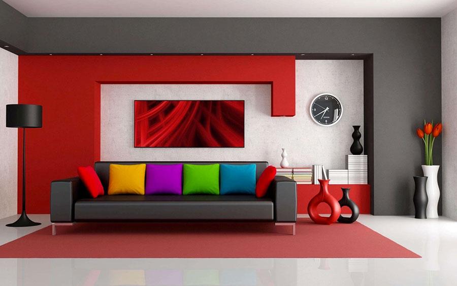 Quadro Soggiorno Moderno. Trendy Living Room Quadro In Lichene ...