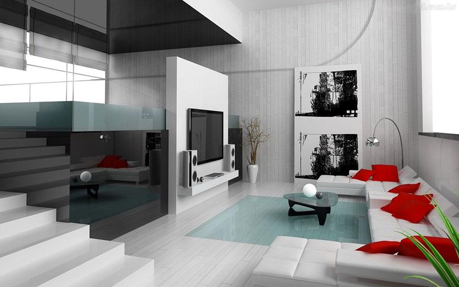 Quadri per soggiorno moderno dal design di tendenza n.21