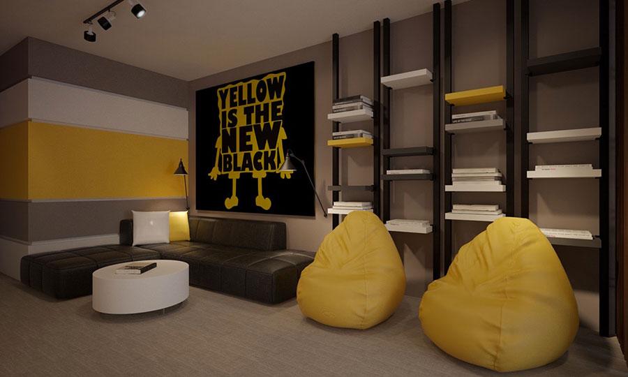 Quadri per soggiorno moderno dal design di tendenza n.22