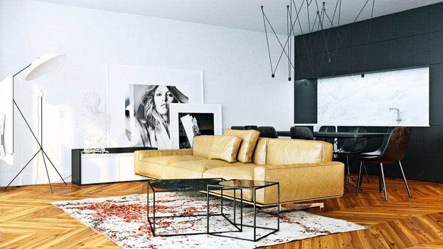 Quadri per soggiorno moderno dal design di tendenza n.28