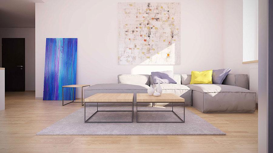 Quadri per soggiorno moderno dal design di tendenza n.29