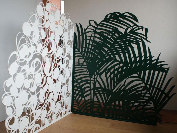 Recinzione metallica decorativa dal design innovativo n.09