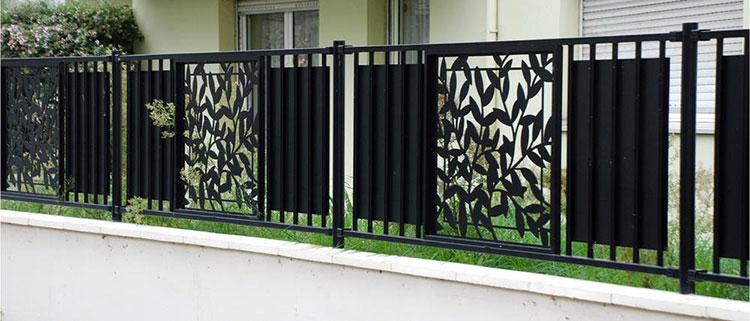 Recinzione metallica decorativa dal design innovativo n.10