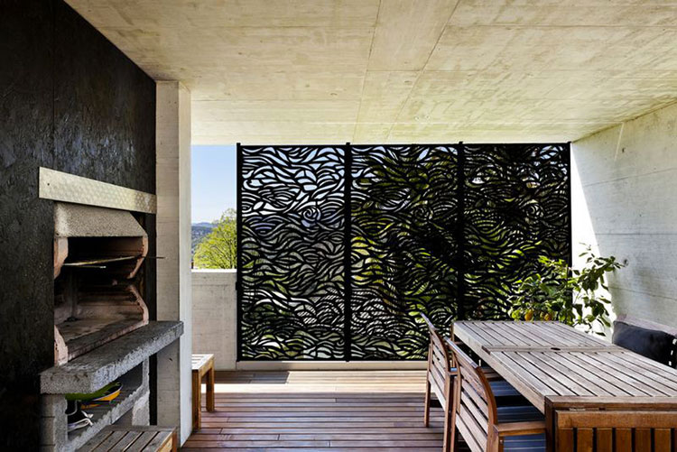 Recinzione metallica decorativa dal design innovativo n.12