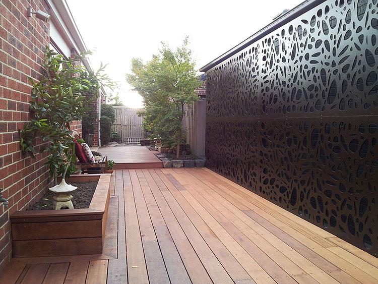Recinzione metallica decorativa dal design innovativo n.13