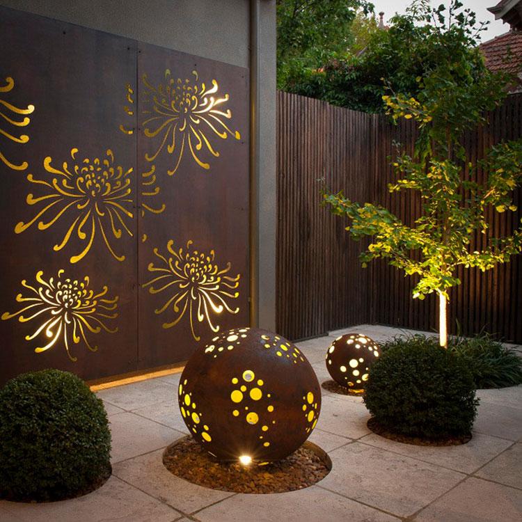 Recinzione metallica decorativa dal design innovativo n.17