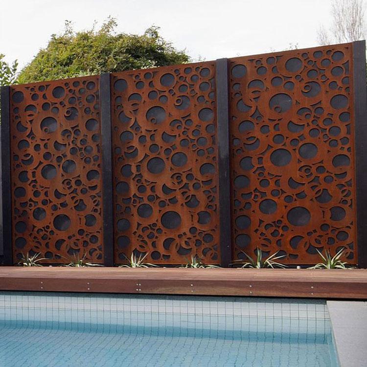 Recinzione metallica decorativa dal design innovativo n.19