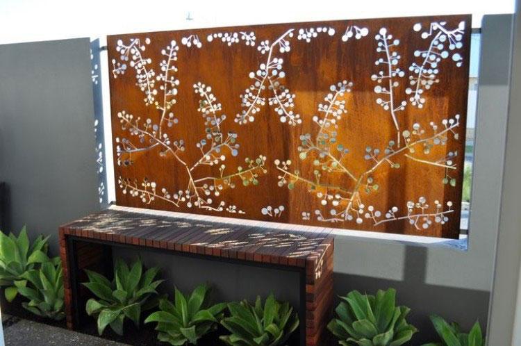 Recinzione metallica decorativa dal design innovativo n.20