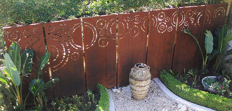 Recinzione metallica decorativa dal design innovativo n.22