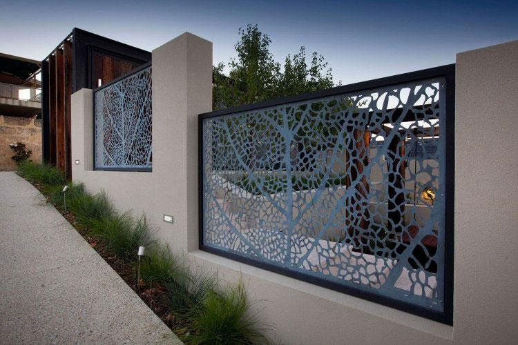 Recinzione metallica decorativa dal design innovativo n.25