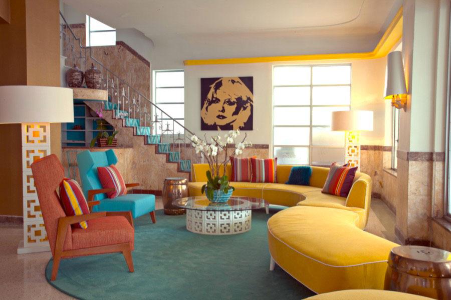 Guida all'arredo di un salotto vintage anni '60 n.03