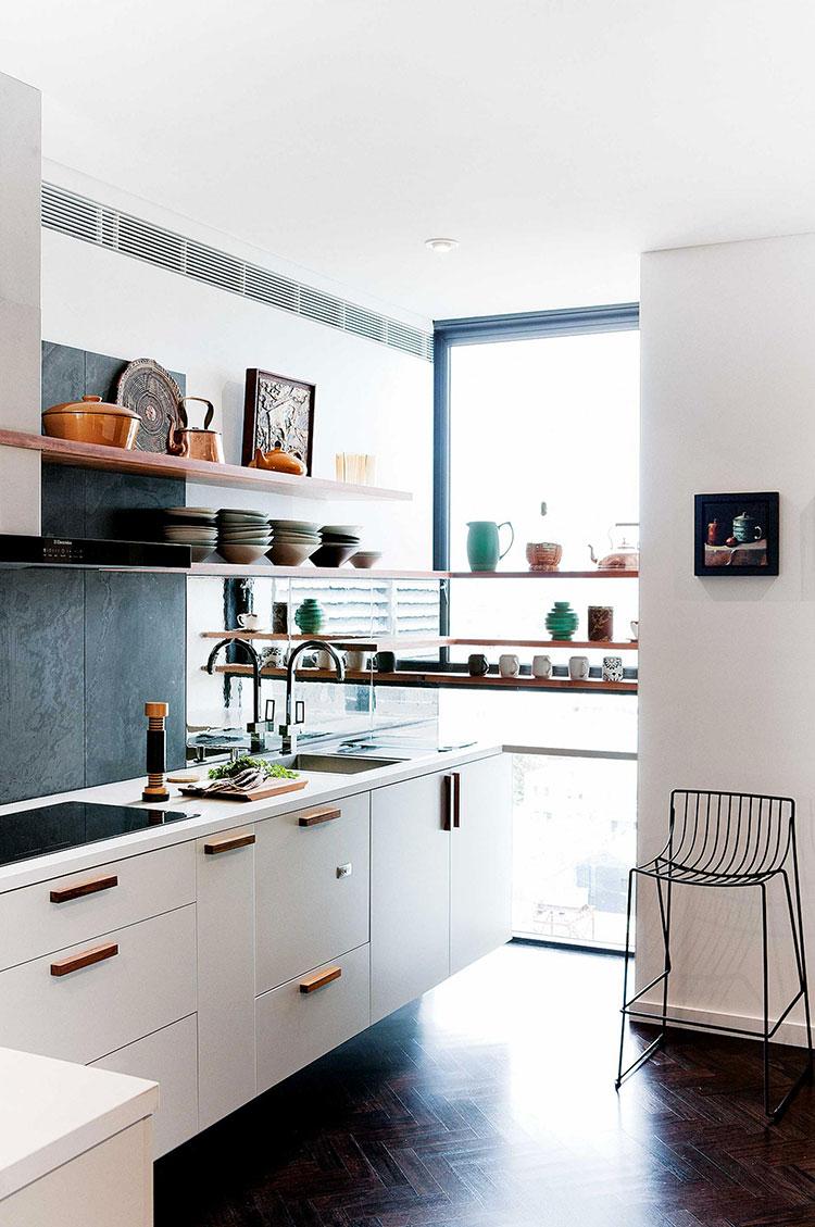 Idee su come arredare una piccola cucina n.03