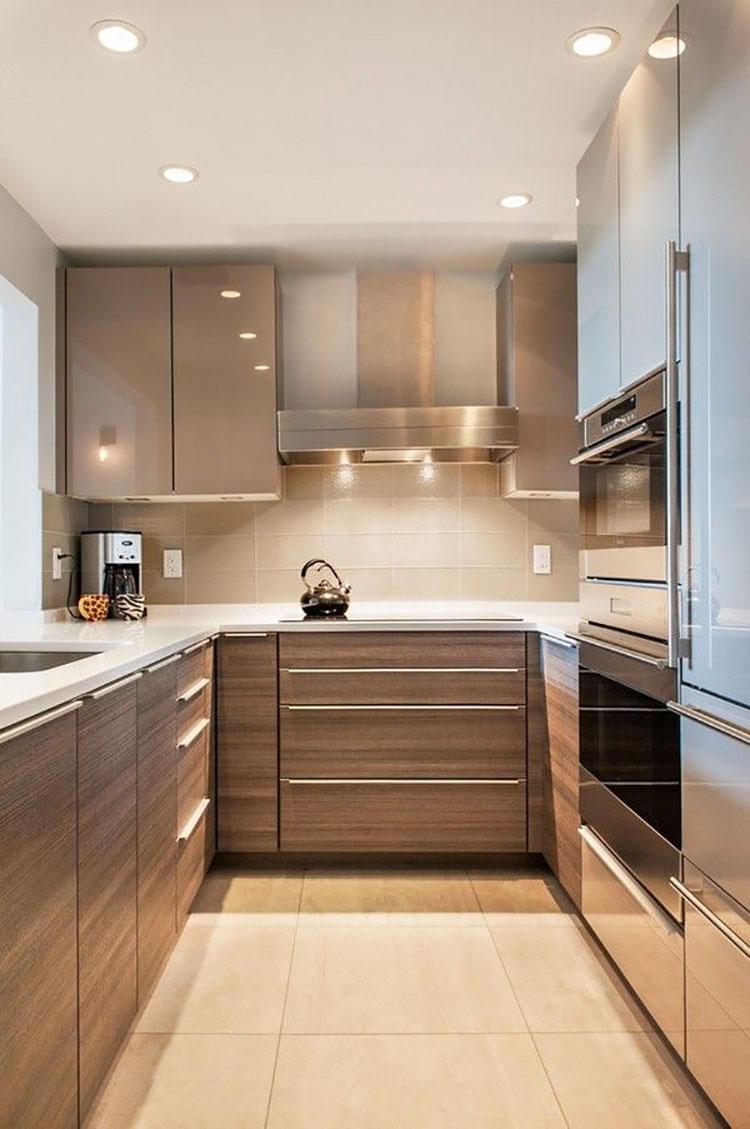 Idee su come arredare una piccola cucina n.05