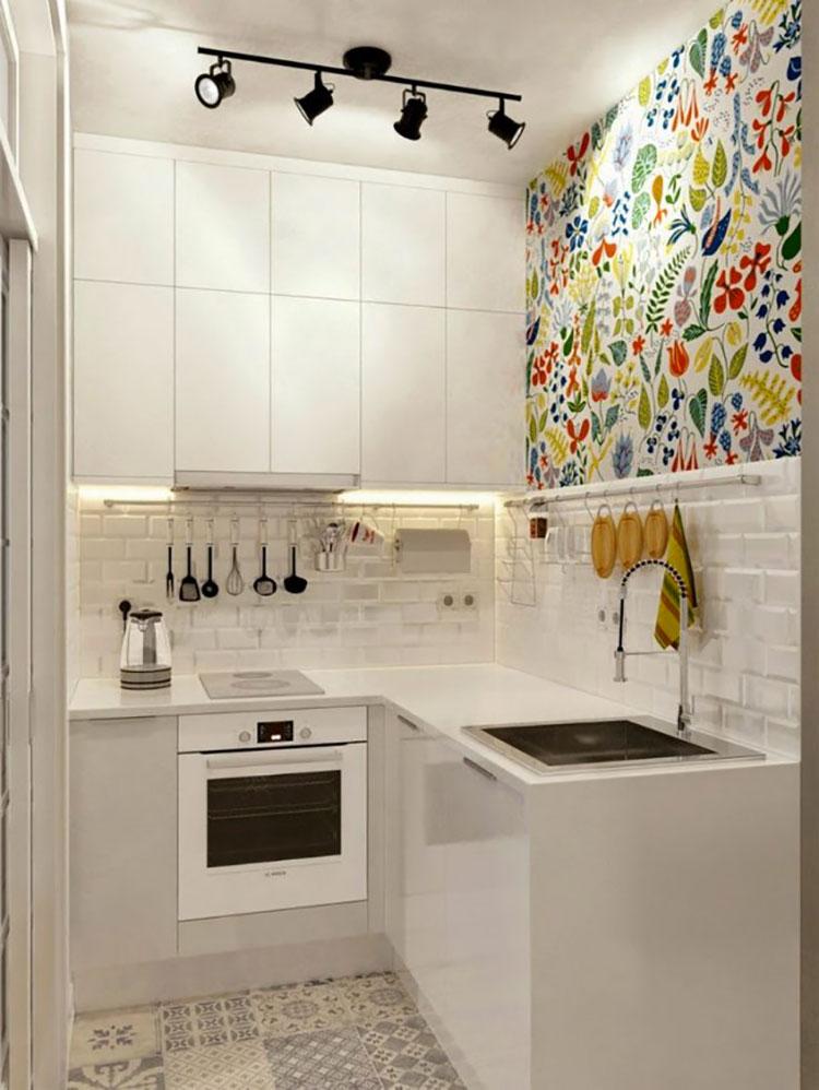 Idee su come arredare una piccola cucina n.13