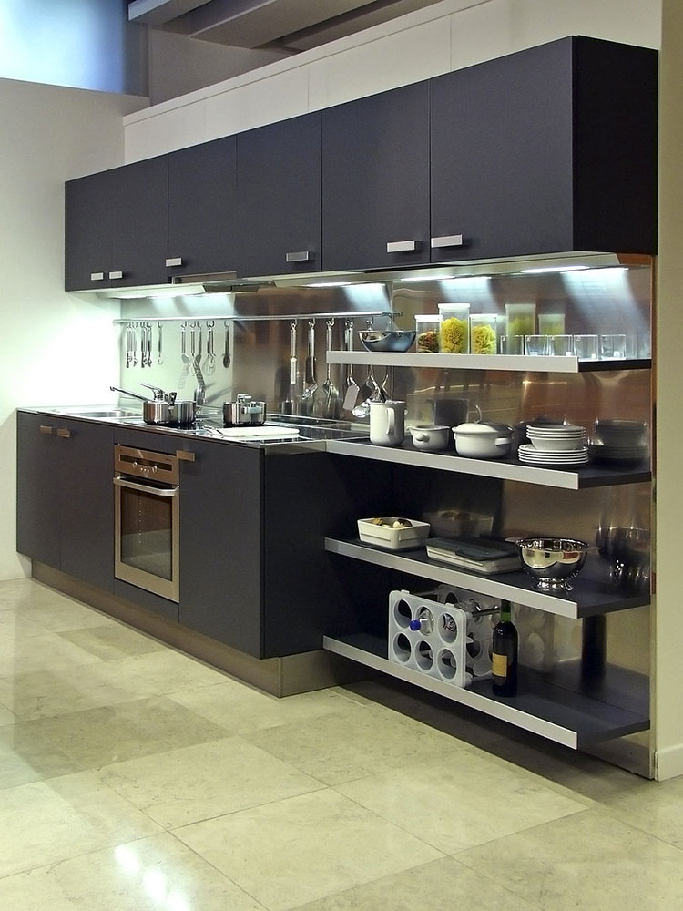 Idee su come arredare una piccola cucina n.14