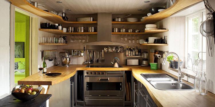 Idee su come arredare una piccola cucina n.15