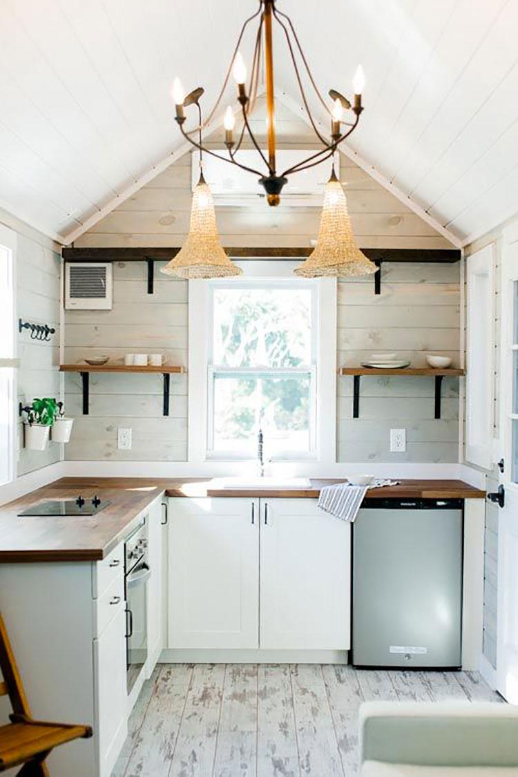 Idee su come arredare una piccola cucina n.17