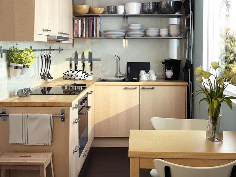 Idee su come arredare una piccola cucina n.18