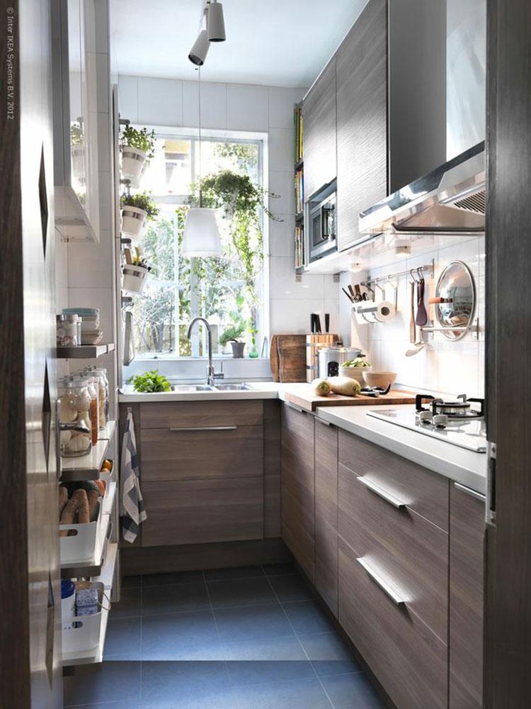 Idee su come arredare una piccola cucina n.19