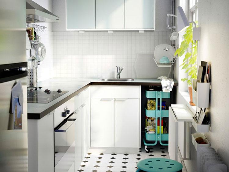 Come Arredare Una Piccola Cucina 25 Idee Pratiche E Di Design