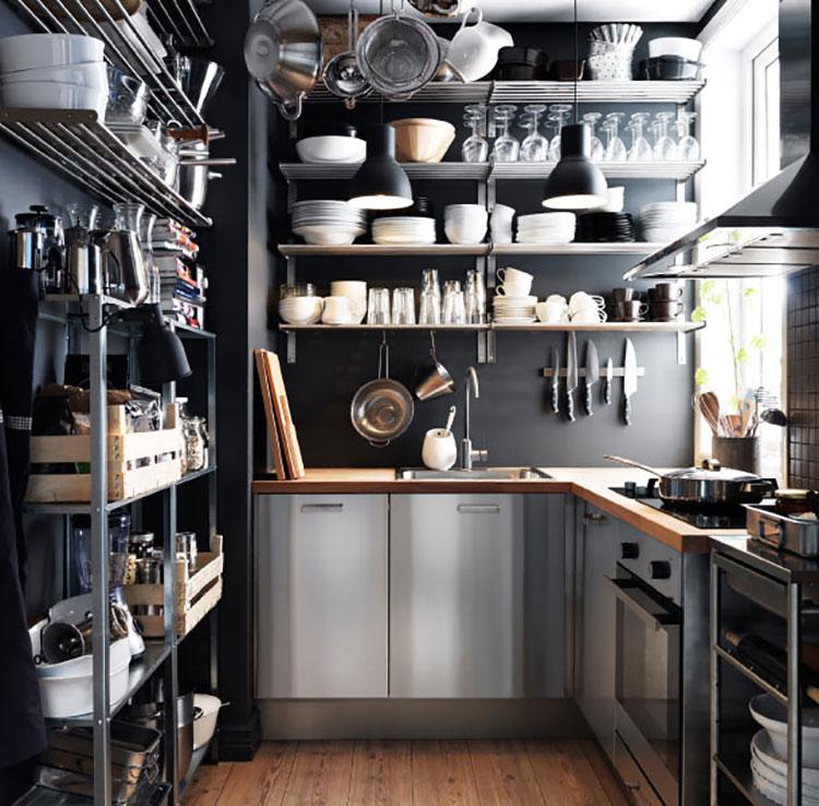 Idee su come arredare una piccola cucina n.24