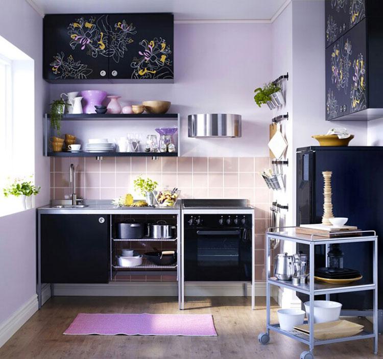Idee su come arredare una piccola cucina n.25
