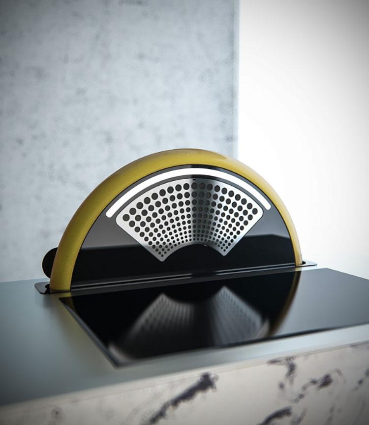 Modello di cappa per cucina moderna n.17