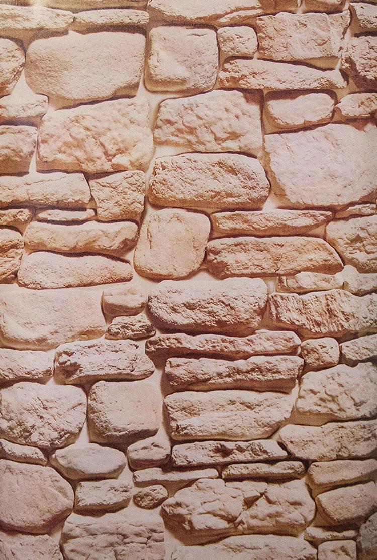 20 modelli di carta da parati effetto pietra