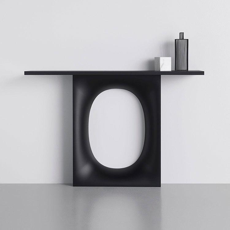 Modello di consolle per ingresso dal design particolare n.01
