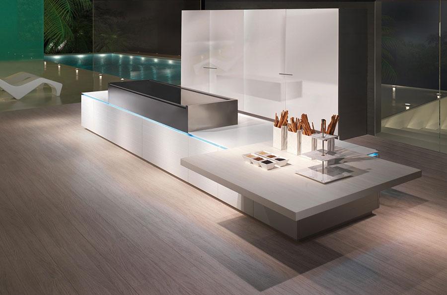 Modello di cucina dal design futuristico n.05