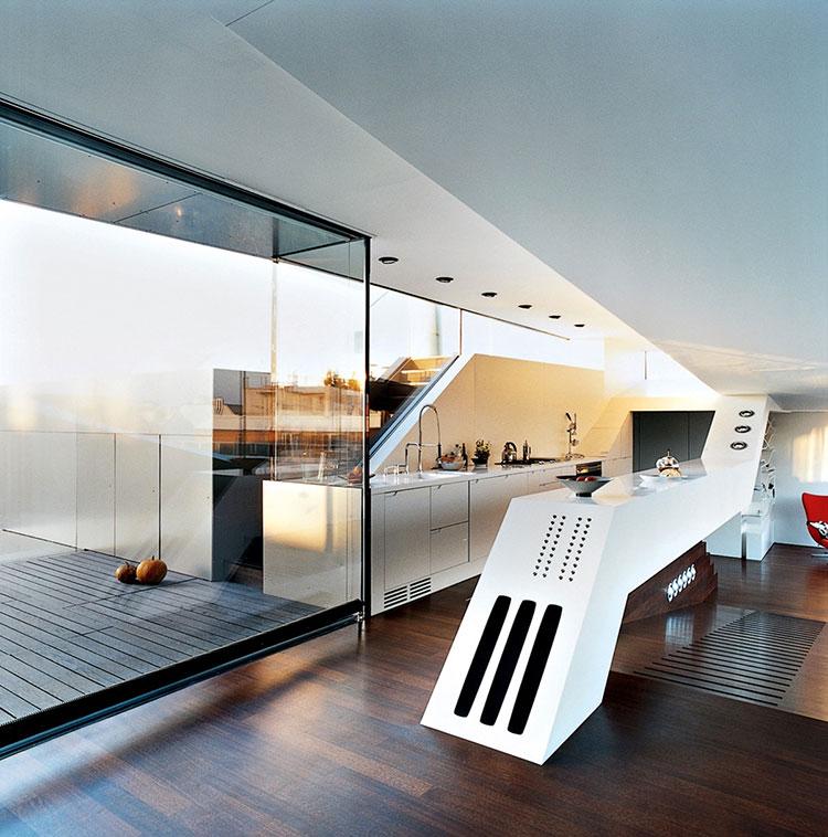 Modello di cucina dal design futuristico n.10