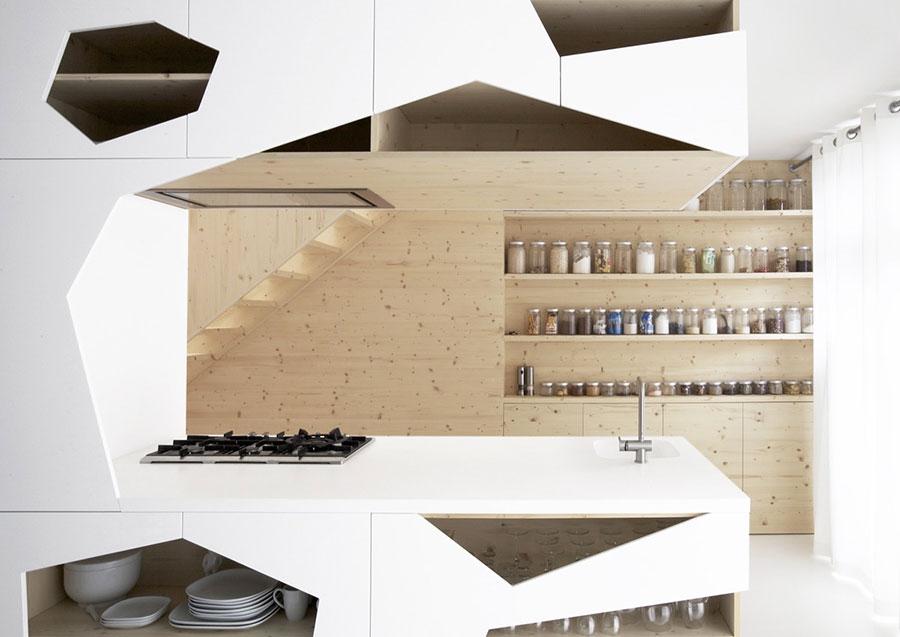 Modello di cucina dal design futuristico n.14
