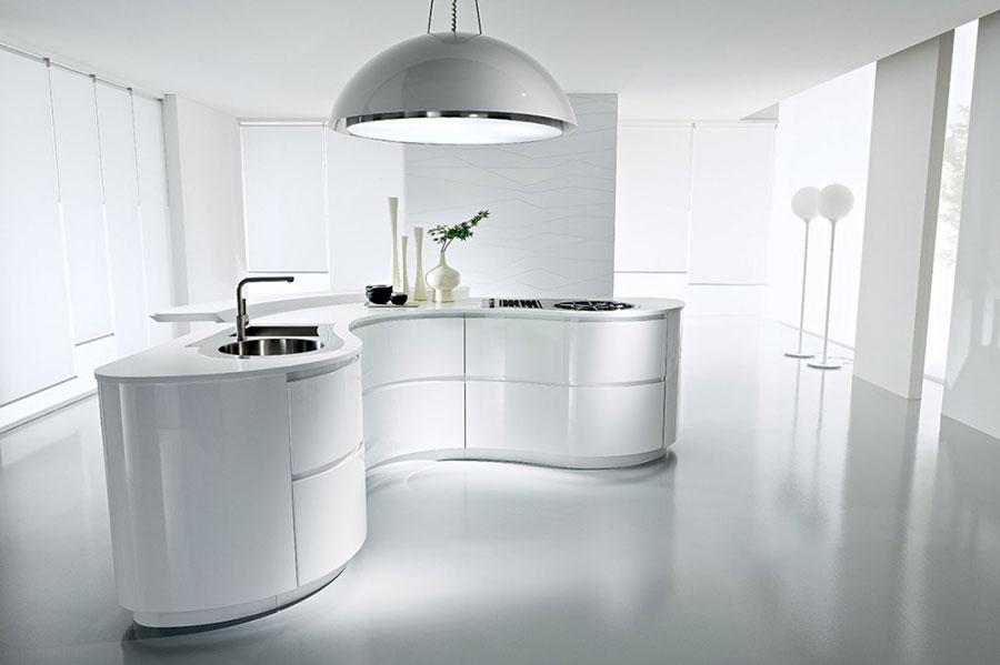 25 Modelli di Cucine Bianche Moderne delle Migliori Marche ...