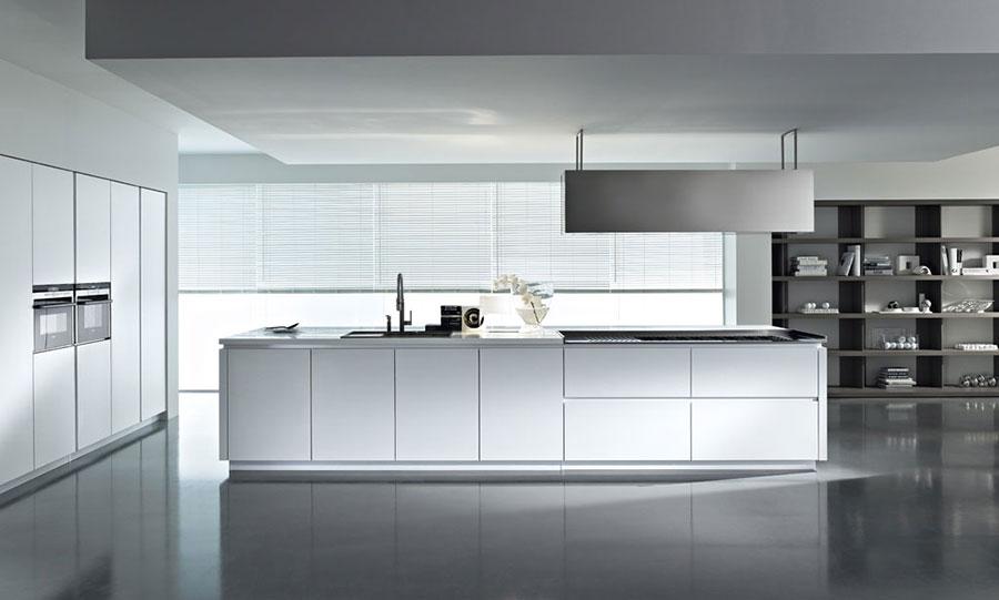 Immagini Cucine Moderne Bianche.25 Modelli Di Cucine Bianche Moderne Delle Migliori Marche