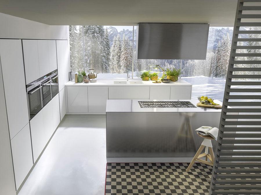 Modelli di cucine bianche moderne delle migliori marche