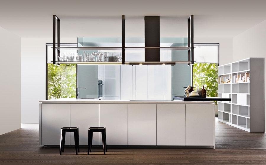 Modello di cucina bianca moderna n.15