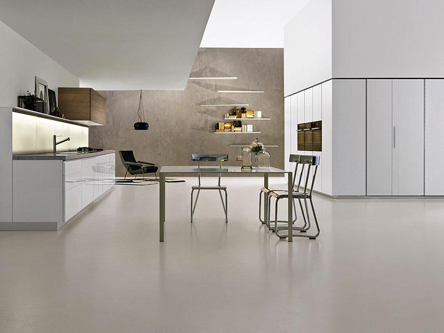 Modello di cucina bianca moderna n.17