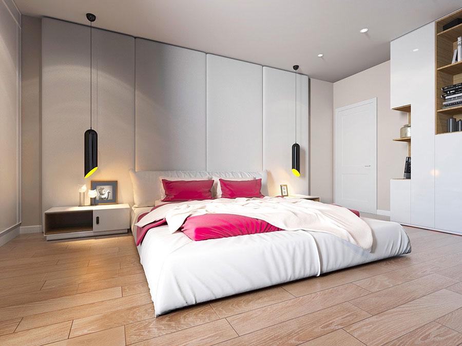 Lampada a sospensione per la camera da letto dal design moderno n.02