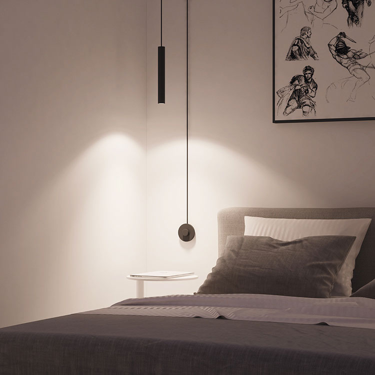 Lampada a sospensione per la camera da letto dal design moderno n.04