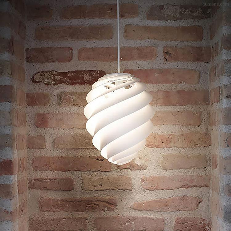 Lampada a sospensione per la camera da letto dal design moderno n.07