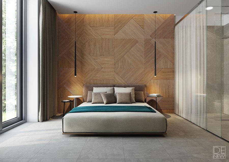 Lampade sospese camera da letto casamia idea di immagine for Lampade per comodini camera da letto