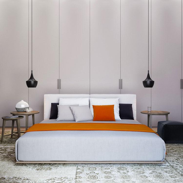 Lampada a sospensione per la camera da letto dal design moderno n.14