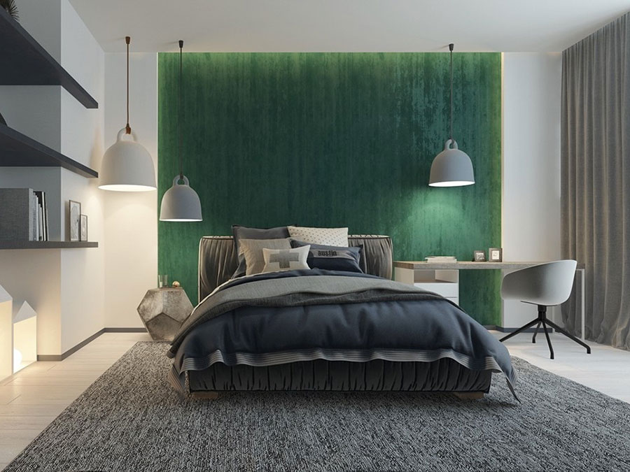Lampada a sospensione per la camera da letto dal design moderno n.15