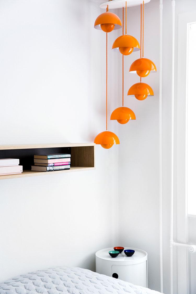 30 lampade a sospensione per la camera da letto dal design for Lampade design