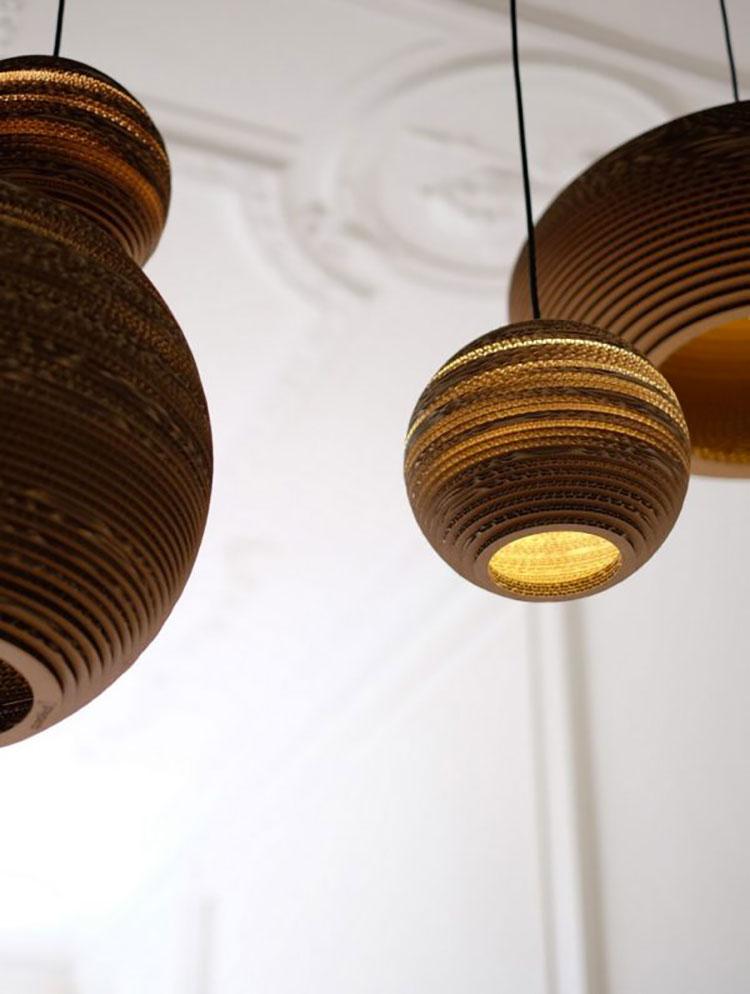Lampada a sospensione per la camera da letto dal design moderno n.20