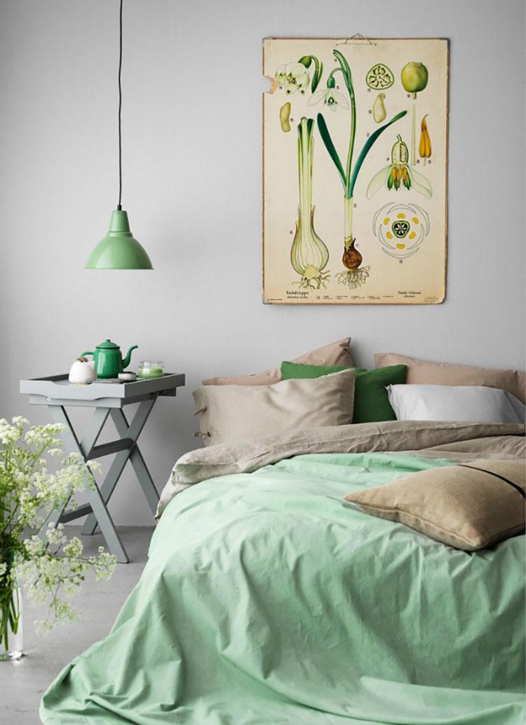 Lampada a sospensione per la camera da letto dal design moderno n.21