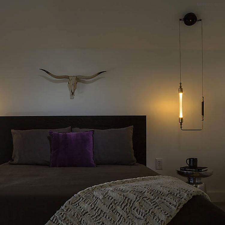 Lampada a sospensione per la camera da letto dal design moderno n.22